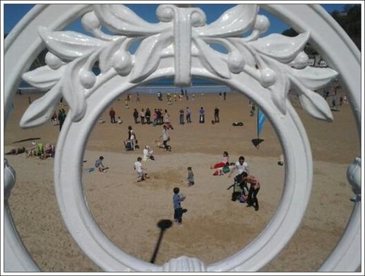 El futuro en la playa